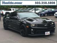 WOW!!! Check out this. 2013 Chevrolet Camaro ZL1 Black