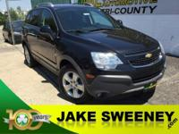 Our 2013 Captiva Sport 2LS made by Chevrolet is shown