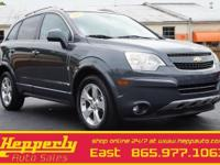 Clean CARFAX. This 2013 Chevrolet Captiva Sport LTZ in
