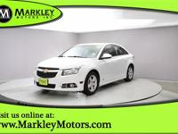 Presenting our 2013 Chevrolet Cruze 1LT that's bold and