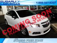 2013 Chevrolet Cruze 1LT 4D Sedan Summit White ECOTEC