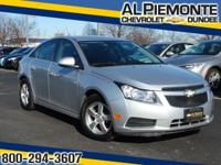 Priced Below the Market. This 2013 Chevrolet Cruze has