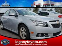 CARFAX One-Owner. Clean CARFAX. Cruze 1LT, 4D Sedan,