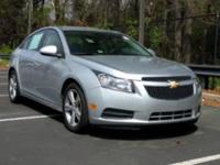 Clean Autocheck and Local Trade. Cruze 1LT, 4D Sedan,