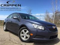 Cruze 1LT Auto GM Certified and ECOTEC 1.4L