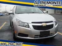 NEW ARRIVAL! This 2013 Chevrolet Cruze looks great with
