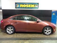 Come see this 2013 Chevrolet Cruze 2LT. Its Automatic