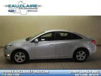 2013 Chevrolet Cruze LT Silver. 16' 5-Spoke