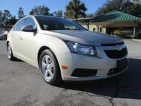 Cruze 1LT. Baby yourself in a matured way. Spotless