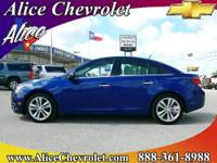 2013 Chevrolet Cruze 4dr Car LTZ Our Location Is: Alice