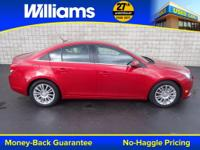 Options:  2013 Chevrolet Cruze Eco|Red|Usb Port And One