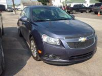 2013 Chevrolet Cruze ECO In Blue. One owner pride and