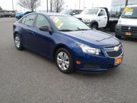 This 2013 Chevrolet Cruze LS is offered to you for sale