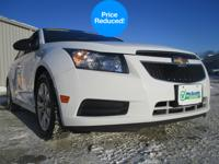 This gas-saving 2013 Chevrolet Cruze LS Auto will get
