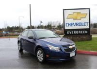 Options:  2013 Chevrolet Cruze Ls|One Owner; Bluetooth;