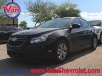 Recent Arrival! 2013 Chevrolet Cruze LS FWD 6-Speed
