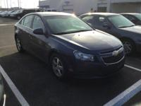 CARFAX One-Owner. Blue Metallic 2013 Chevrolet Cruze