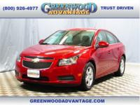 Crystal Red Tintcoat 2013 Chevrolet Cruze 1LT Featuring