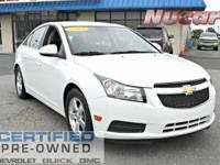 New Price! This 2013 Chevrolet Cruze 1LT in Summit