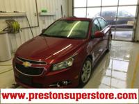 Options:  2013 Chevrolet Cruze Ltz|Red|Cruze Ltz Clean
