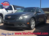 New Price! Clean CARFAX. 2013 Chevrolet Cruze LTZ FWD