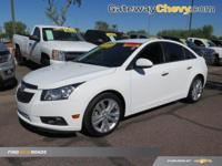 Cruze LTZ. My! My! My! What a deal! Turbocharged!You'll