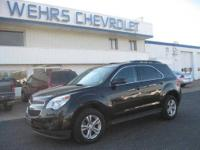 AWD EQUINOX 29 MPG REMAINING WARRANTY WEHRS CHEVY SINCE
