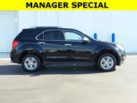 New Price! This 2013 Chevrolet Equinox LTZ in Black