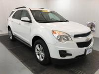 New Price! Summit White 2013 Chevrolet Equinox LT 1LT