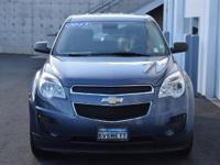The Chevrolet Equinox is sized like a midsize and