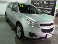 This good-looking 2013 Chevrolet Equinox is the rare