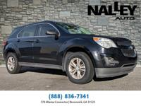 Black 2013 Chevrolet Equinox LS FWD 6-Speed Automatic
