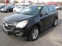 The Chevrolet Equinox is a mid sized SUV. Some specs