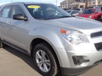 Dare to compare! This 2013 Chevrolet Equinox LS has