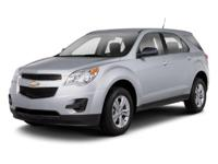 2013 Silver Chevrolet Equinox LS 6-Speed Automatic with