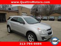 1 OWNER. Come see this 2013 Chevrolet Equinox LS. Its