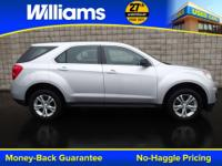 Options:  2013 Chevrolet Equinox Ls|Silver|Clean