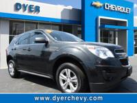 Look at this 2013 Chevrolet Equinox LS. Its Automatic