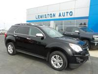This FWD LT Equinox is equipped with a 2.4L engine,