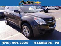 AWD. CARFAX One-Owner. 2013 Chevrolet Equinox LT 4D