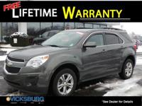 Options:  2013 Chevrolet Equinox Lt|Gray|New Price!
