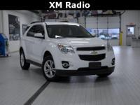 2013 Chevrolet Equinox LT WhitePriced below KBB Fair