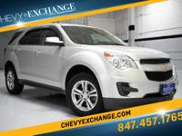 Options:  2013 Chevrolet Equinox 1Lt|Silver Ice