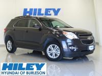 2013 Chevy Equinox LT 2.4 4-Cylinder FWD. Automatic. 2