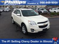 Options:  2013 Chevrolet Equinox 2Lt|White|Ready To