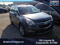 CARFAX One-Owner.  Blue Metallic 2013 Chevrolet Equinox