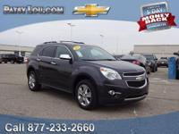 2013 Equinox LTZ!!! CLEAN CARFAX**REAR BACK-UP