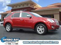 **CLEAN CARFAX** and **ONE OWNER**. Equinox LTZ, GM
