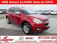 1-Owner New Vehicle Trade! LTZ 2.4 FWD. Power Sunroof,