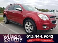 2013 Chevrolet Equinox LTZ 3.6L V6 SIDI Crystal Red